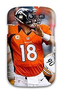 New Design Shatterproof NHgKMCG23112YAJHd Case For Galaxy S3 (peyton Manning)