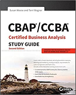//IBOOK\\ CBAP / CCBA Certified Business Analysis Study Guide. biste curso sites become Joaquin industry