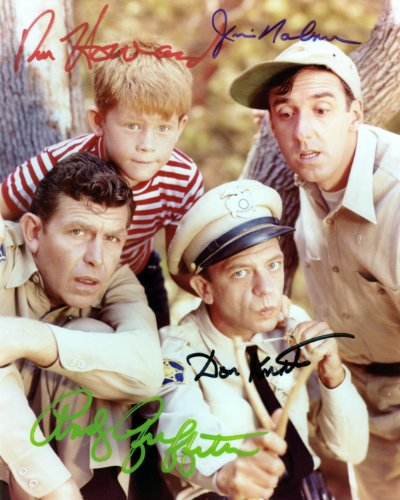 The Andy Griffith Show Cast Autographed Signed 8 X 10 Reprint Photo - Mint Condition from Nostalgic Cards & Autographs