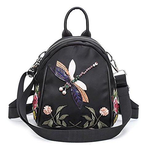 main souple cuir 20 en sac mode à 25cm à sac de la multifonctionnel PU Sac des 10 décontracté femmes dos T8zvZXqwx