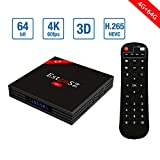 [2018 Newest 4G 64G Android TV Box] EstgoSZ Android 7.1 TV Box RK3328 4K Smart TV Box Support 2.4G/5G Dual Wifi/100M LAN/BT 4.0/3D /H265