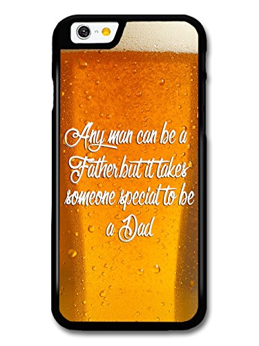 Father Dad Quote on Pint of Beer Stylish Design coque pour iPhone 6 6S