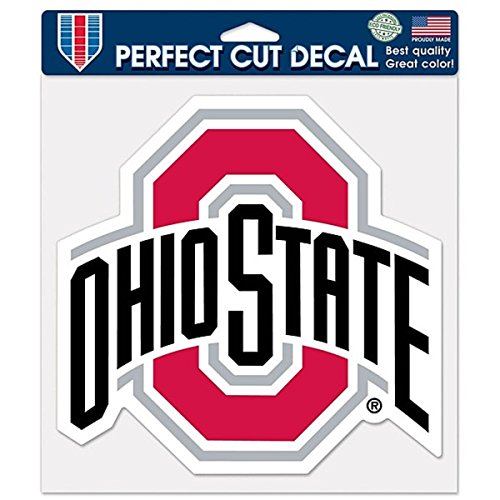 WinCraft NCAA Ohio State Buckeyes Die-Cut Color Decal, 8