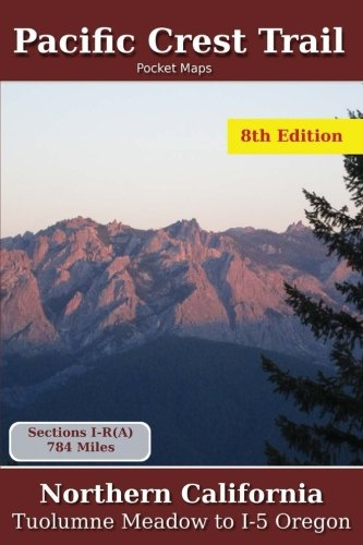 (Pacific Crest Trail Pocket Maps - Northern California )