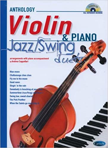 Amazon com: Jazz Swing Duets for Violin & Piano +CD (9788850724772