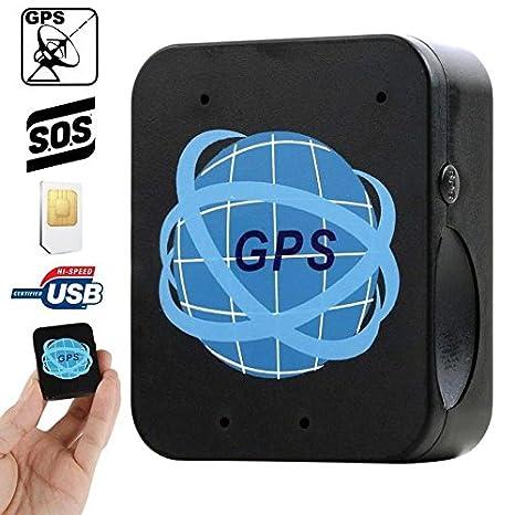 Mini Localizador GPS GSM GPRS Micrófono espía con llamada automática SOS: Amazon.es: Electrónica