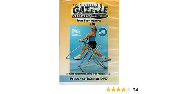 Amazon.com: Tony Little's Gazelle Freestyle Crosstrainer Total ...