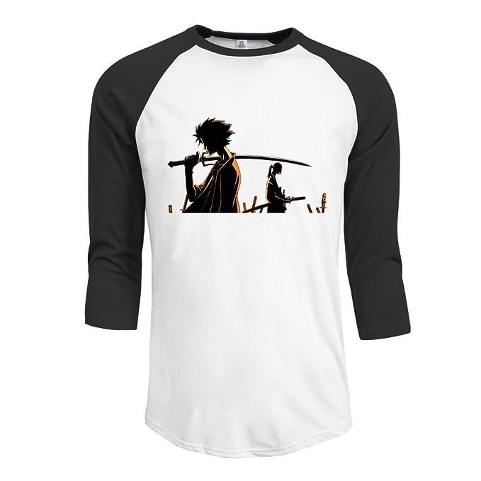 JPPz De hombre para hombre serie de anime japonesa Samurai Champloo camisas Vintage: Amazon.es: Libros