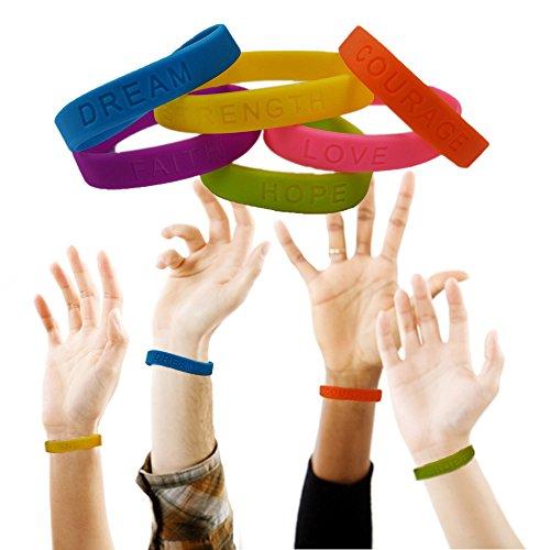 Toy Cubby Colorful Motivational Bracelet product image