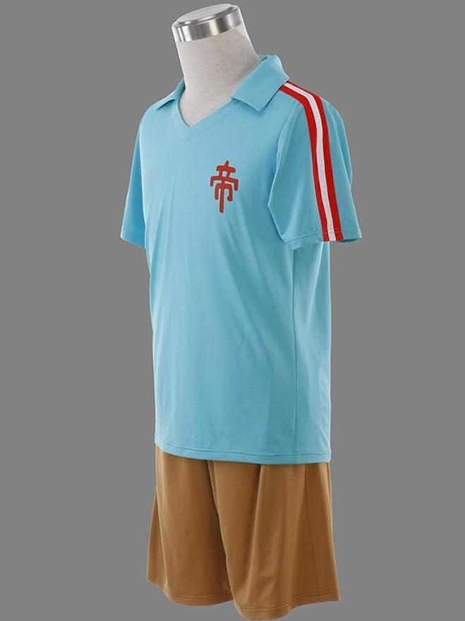 0cd114112da Dream2Reality Japanese Anime Inazuma Eleven Cosplay Costume - Shin Teikoku Academy  Soccer Jersey 1st Ver XXX-Large  Amazon.co.uk  Toys   Games