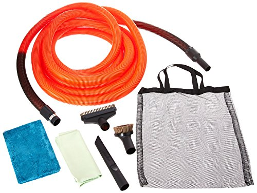 Cen-Tec Systems 99658 30 Foot Standard Garage Kit with Orange (Central Vac Kits)
