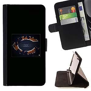 Momo Phone Case / Flip Funda de Cuero Case Cover - Chicago ;;;;;;;; - Apple Iphone 6 PLUS 5.5