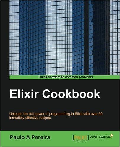 Elixir Cookbook Paulo Pereira