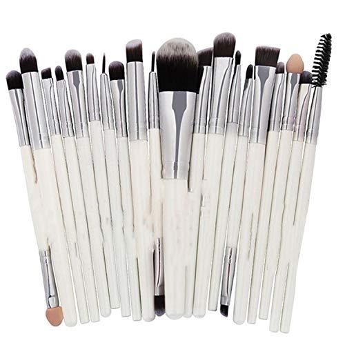 20PCS Makeup Brushes Set Powder Foundation Eyeshadow Eyeliner Lip Cosmetic Make Up brushes Tools,C