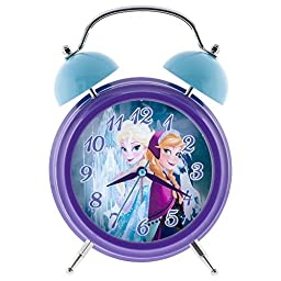 Disney Frozen Twin Bell Bank Musical Alarm Clock