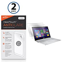 ASUS Zenbook Pro UX501 Screen Protector, BoxWave® [ClearTouch Anti-Glare (2-Pack)] Anti-Fingerprint Matte Film Skin for ASUS Zenbook Pro UX501