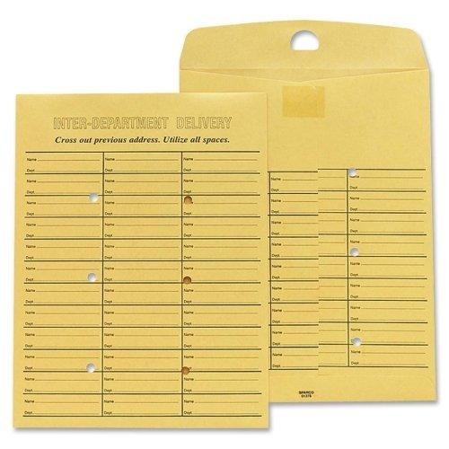 Sparco Inter Department Envelope, Sub 28, 10 x 13 Inches, Kraft (SPR01378)