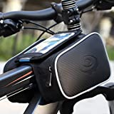 Outdoor Bike Bag Roswheel Bicycle Bag Phone Case 1.8L Waterproof Cycling Front Pannier Pouch for 5 inch Cellphone