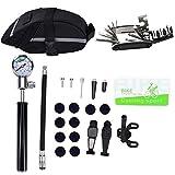 Seatechlogy Bike Bicycle Tool Kit Repair Tool Kit Inflator, tire repair kit, multifunction repair tool, ball needle