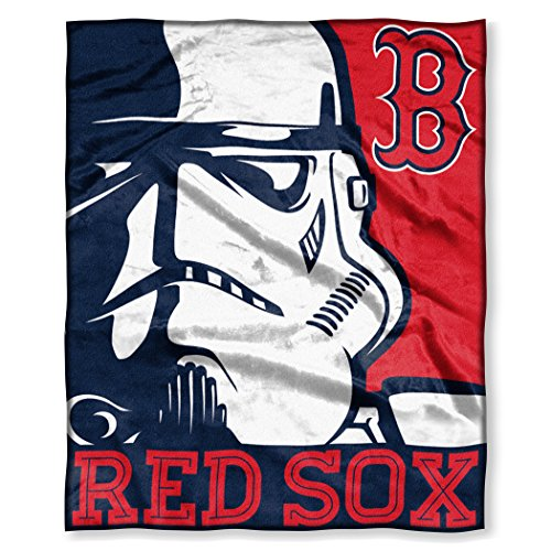 Officially Licensed MLB Intimidation HD Silk Touch Throw Blanket, Soft & Cozy, Washable, Throws & Bedding, 50