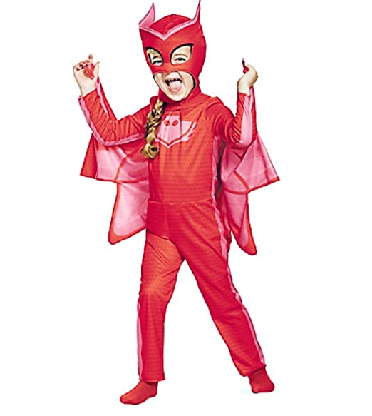 HalloCostume Girls Owlette Costume - PJ Masks, Halloween Costumes for Girls