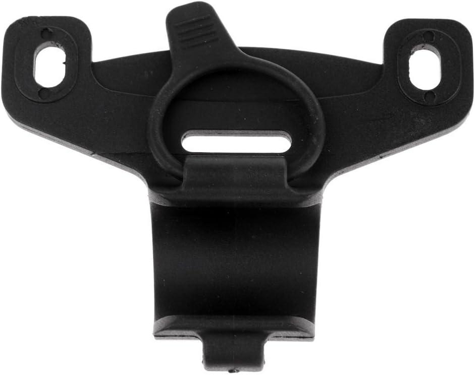 Schwarz Mini Fahrrad Pumpenhalter Tragbare Pumpe Halteklammern Halterung EJ