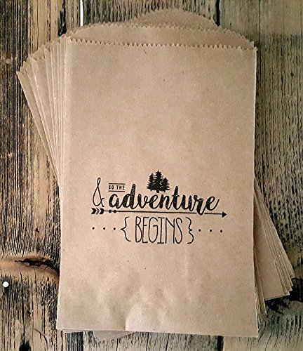 Kraft paper rustic treat, favor or gift bags 24 ct