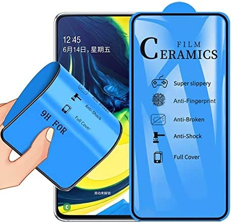 WTYD 電話アクセサリー ギャラクシーA80 / A90のための2.5D全グルーのフルカバーセラミックス皮膜