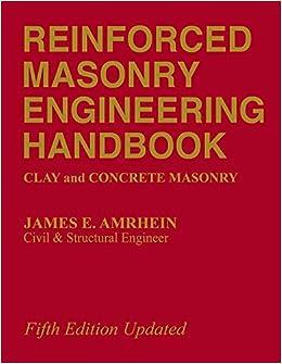Reinforced Masonry Engineering Handbook: Clay and Concrete Masonry, Fifth Edition