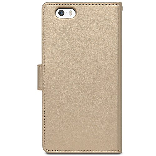 "iPhone 6S PLUS / 6 PLUS Case, [Rich Diary] VENTER® [Drop Protection] [Wallet Hülle] Premium-Soft-Kunstleder Hülle [ID Card & Cash-Slot] Abdeckung für iPhone 6S PLUS / 6 PLUS (5.5"")"