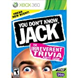 New Thq You Don't Know Jack Entertainment Game Xbox 360 Popular Excellent Performance