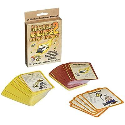 Munchkin Apocalypse 2 Sheep Impact Game: Toys & Games