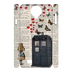 Custom New Case for SamSung Galaxy S4 I9500 3D, Doctor Who Phone Case - HL-541150