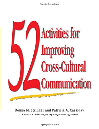 52 Activities For Improving Cross Cultural Communication