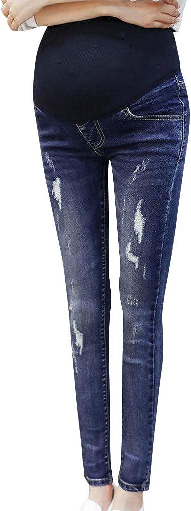 Pantalones de premio para maternidad, con cintura alta ...
