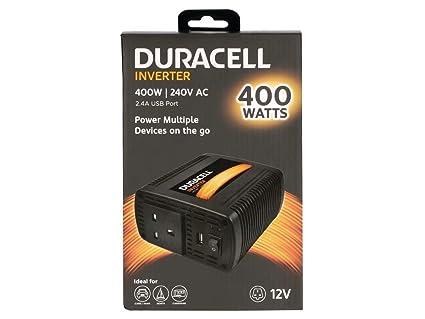 Duracell DRINV40-UK Adaptador e inversor de Corriente Auto ...