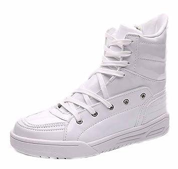 Hombres Zapatillas De Deporte Respirables De La Hola-Top 2017 Zapatos Planos Ocasionales De La Personalidad De La Manera De Los Zapatos Del Otoño Nuevo: ...