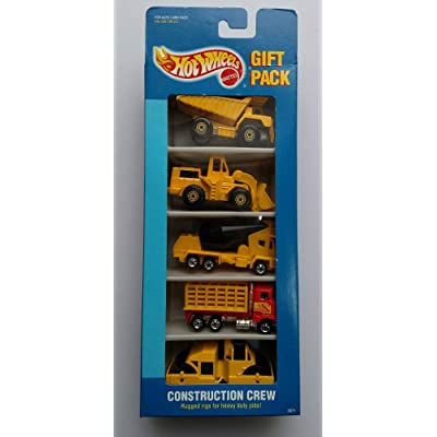 Hot Wheels Construction Crew Gift Pack: Toys & Games