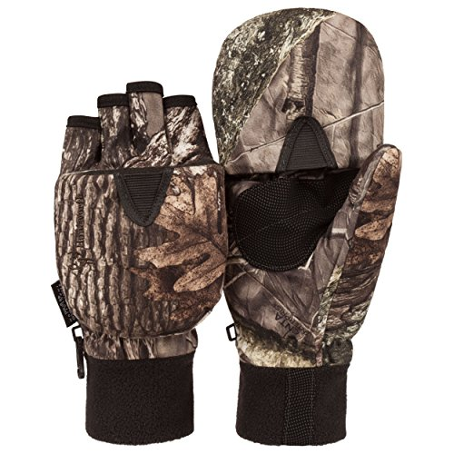 Men's Hunting HIDD'N Camo Extreme Cold Pop-Top Glove (XL)