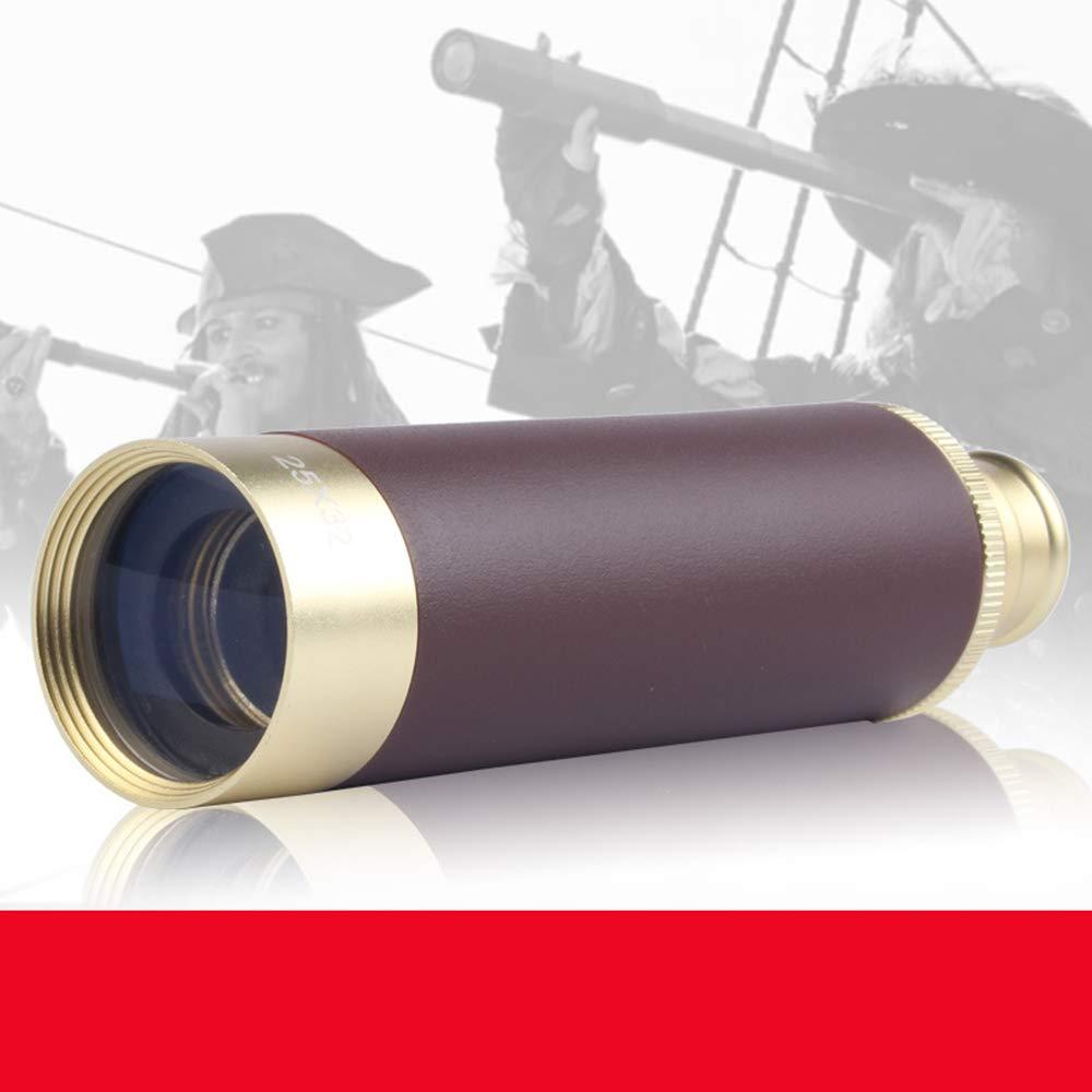 MCCW Telescopio Pirata monocular Retro telesc/ópico ni/ño 25x30 Alta definici/ón Mini Mini Glimmer visi/ón Nocturna Adultos al Aire Libre Productos