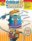 Critical & Creative Thinking Activities, Grade 1