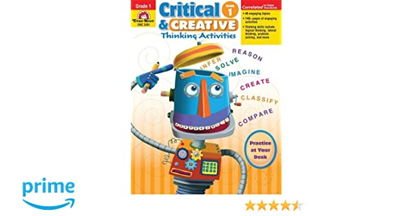 Workbook continents for kids worksheets : Critical & Creative Thinking Activities, Grade 1: Rachel Lynette ...