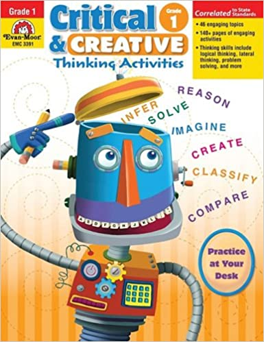 Critical & Creative Thinking Activities, Grade 1: Rachel Lynette ...