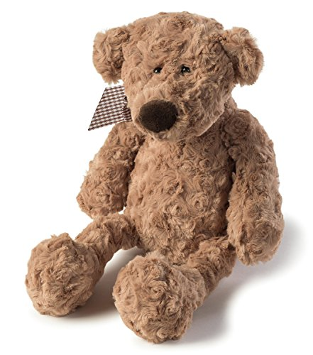 - JOON Charles Rosy Plush Teddy Bear, Light Brown, 10-Inches