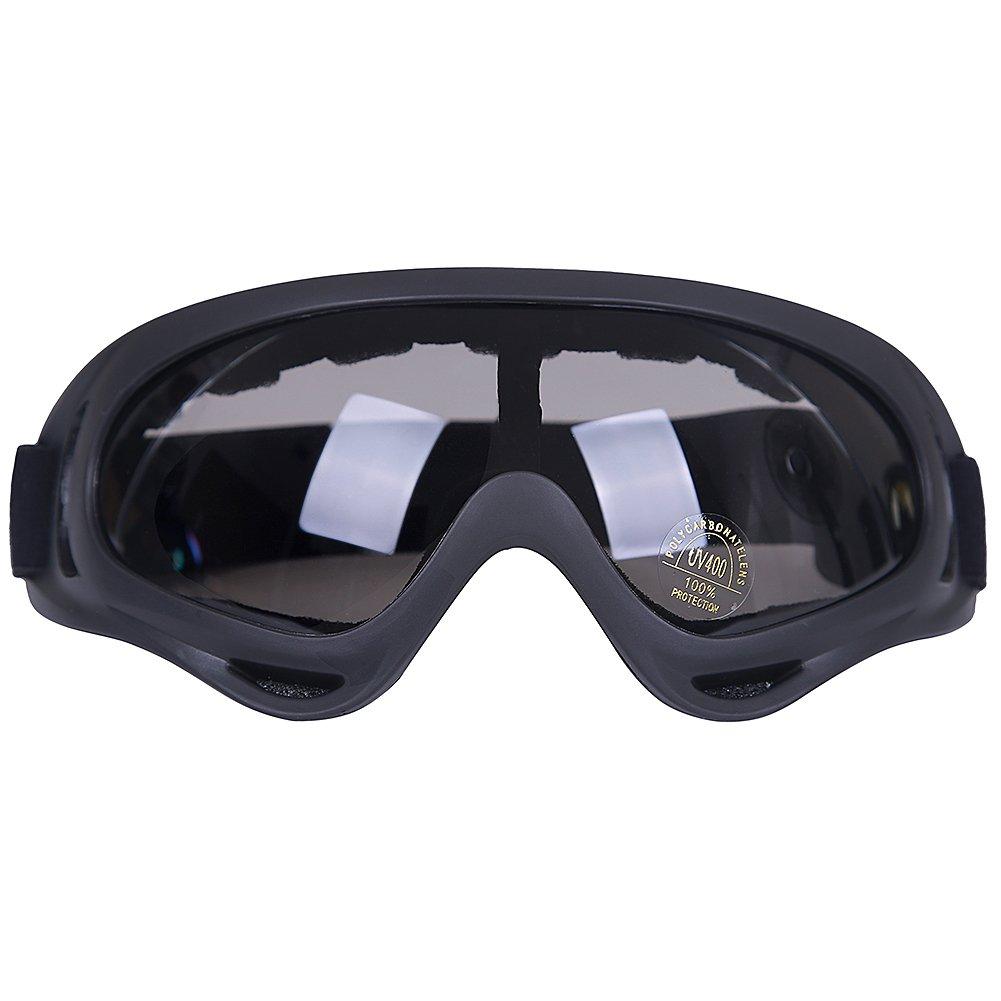 Kottle Occhiali da sci esterno antivento con protezione UV, occhiali di sicurezza occhiali CS esercito militare tattico occhiali di guida del motociclo (Colorato)
