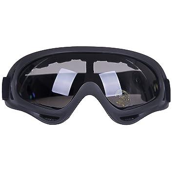 Kottle Al aire libre a prueba de viento esquí gafas con protección UV, montar lentes CS ejército táctico gafas militares gafas de seguridad de la ...