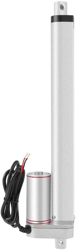 Bewinner Actuador Lineal eléctrico 200 mm Carrera de Alta Resistencia 750N Línea Recta Actuador Lineal eléctrico 24V para sofá eléctrico, Varilla de elevación de pie eléctrico, Sistema de elevación