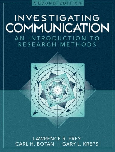 Top 10 best communication research methods 2nd edition