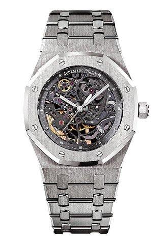 Audemars Piguet AP Royal Oak 39 Openworked Selfwinding Stainless Steel Watch 15305ST.OO.1220ST.01