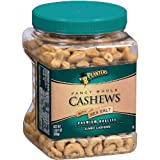 Planters Fancy Whole Cashews with Sea Salt - 33 oz. (pack of 6)